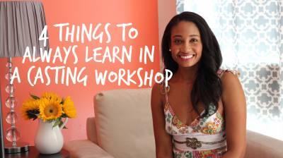 4 Things You Should Always Learn In A Casting Workshop | Workshop Guru