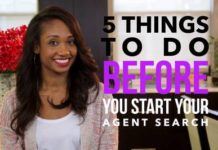 Five Things To Consider Before You Start Your Agent Search | Workshop Guru