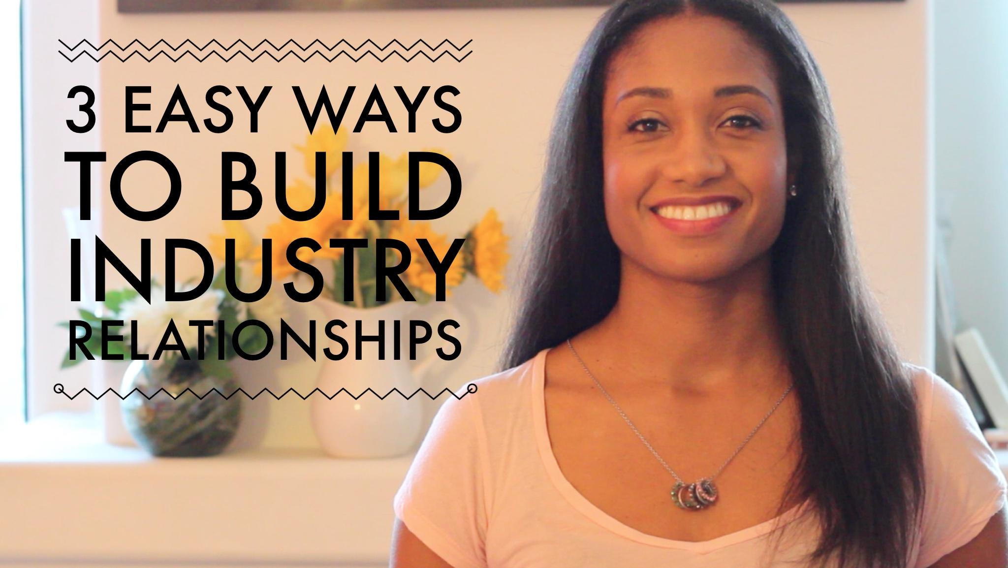 3 Easy Ways to Build Industry Relationships Now   Workshop Guru