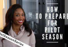 How To Prepare For Pilot Season | #PilotSeasonSeries Vol. 1 | Workshop Guru
