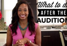 What To Do After The Audition | Workshop Guru