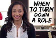 When To Turn Down A Role   Workshop Guru