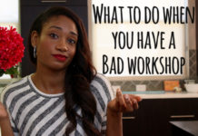What To Do When You Have A Bad Workshop | Workshop Guru
