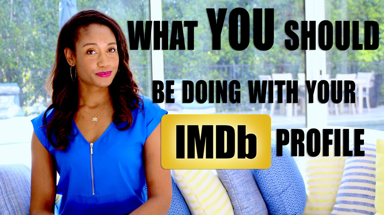 What You Should Be Doing With Your IMDb Profile   Workshop Guru