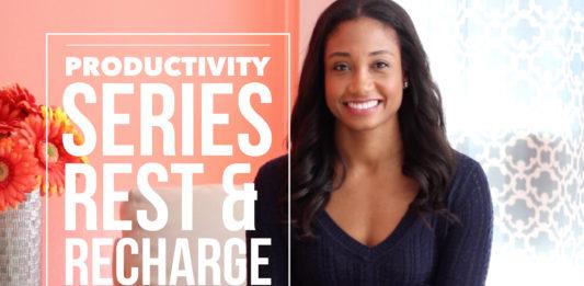 Rest and Recharge | #ProductivitySeries Vol. 3 | Workshop Guru