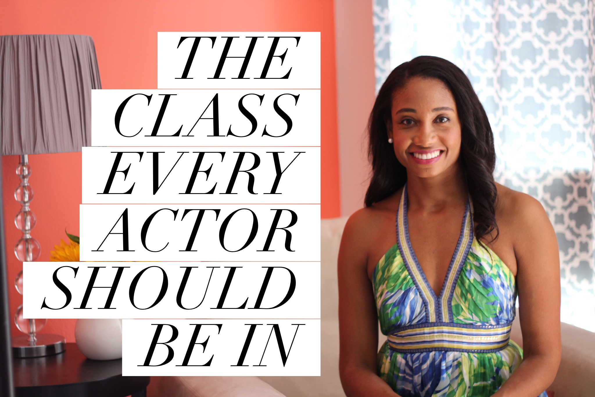 The Class Every Actor Should Be In   Workshop Guru