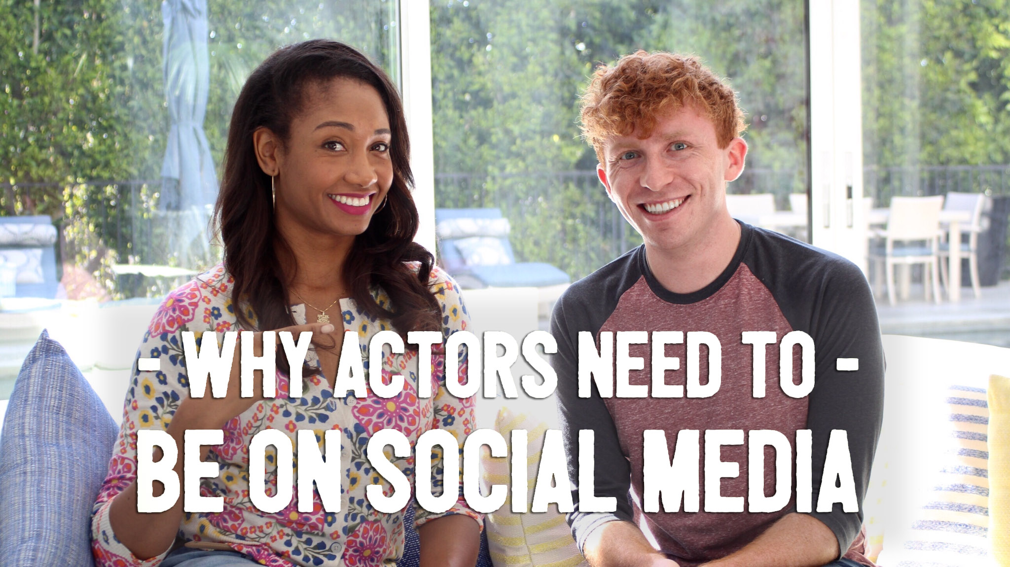 Why Actors Need To Be On Social Media (with special guest Evin Michaels!)   Workshop Guru