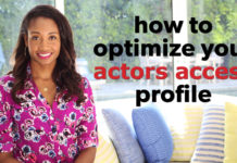 How To Optimize Your Actors Access Profile | Workshop Guru