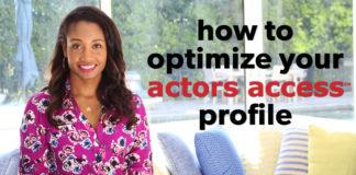 How To Optimize Your Actors Access Profile | Workshop Guru