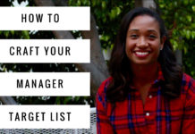 How To Make Your Manager Target List | Workshop Guru