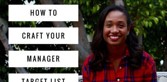 How To Make Your Manager Target List | Workshop Guru