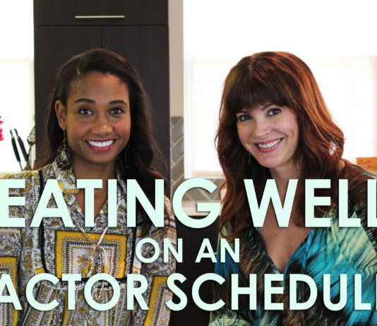 Eating Well on a Hectic Actor Schedule | #HealthyActorSeries Vol. 1 | Workshop Guru