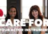 Care for Your Actor Instrument | #HealthyActorSeries Vol. 2 | Workshop Guru