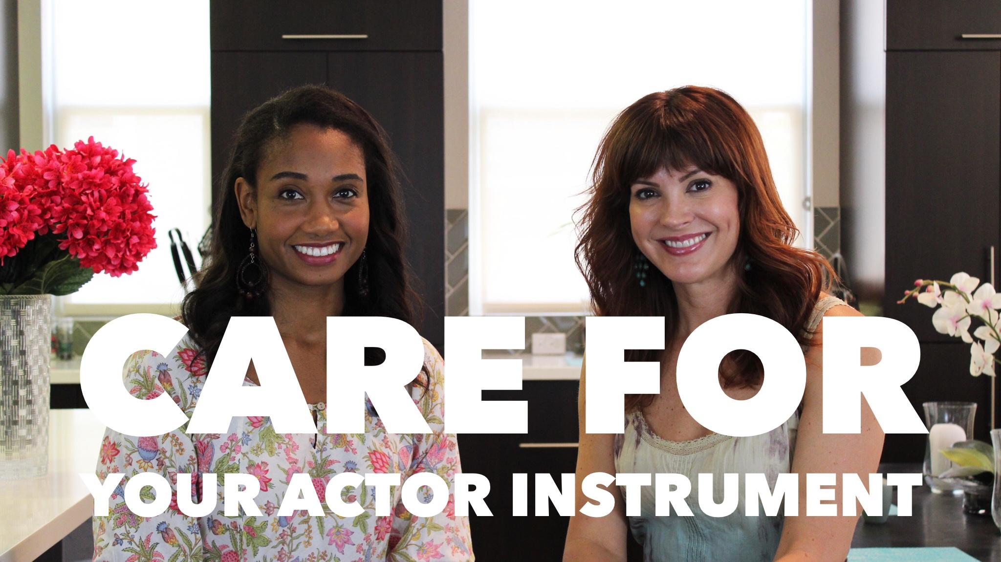 Care for Your Actor Instrument | #HealthyActorSeries Vol. 2 | Workshop Guru