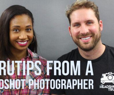 GuruTips From A Headshot Photographer (with The Headshot Truck!)   Workshop Guru