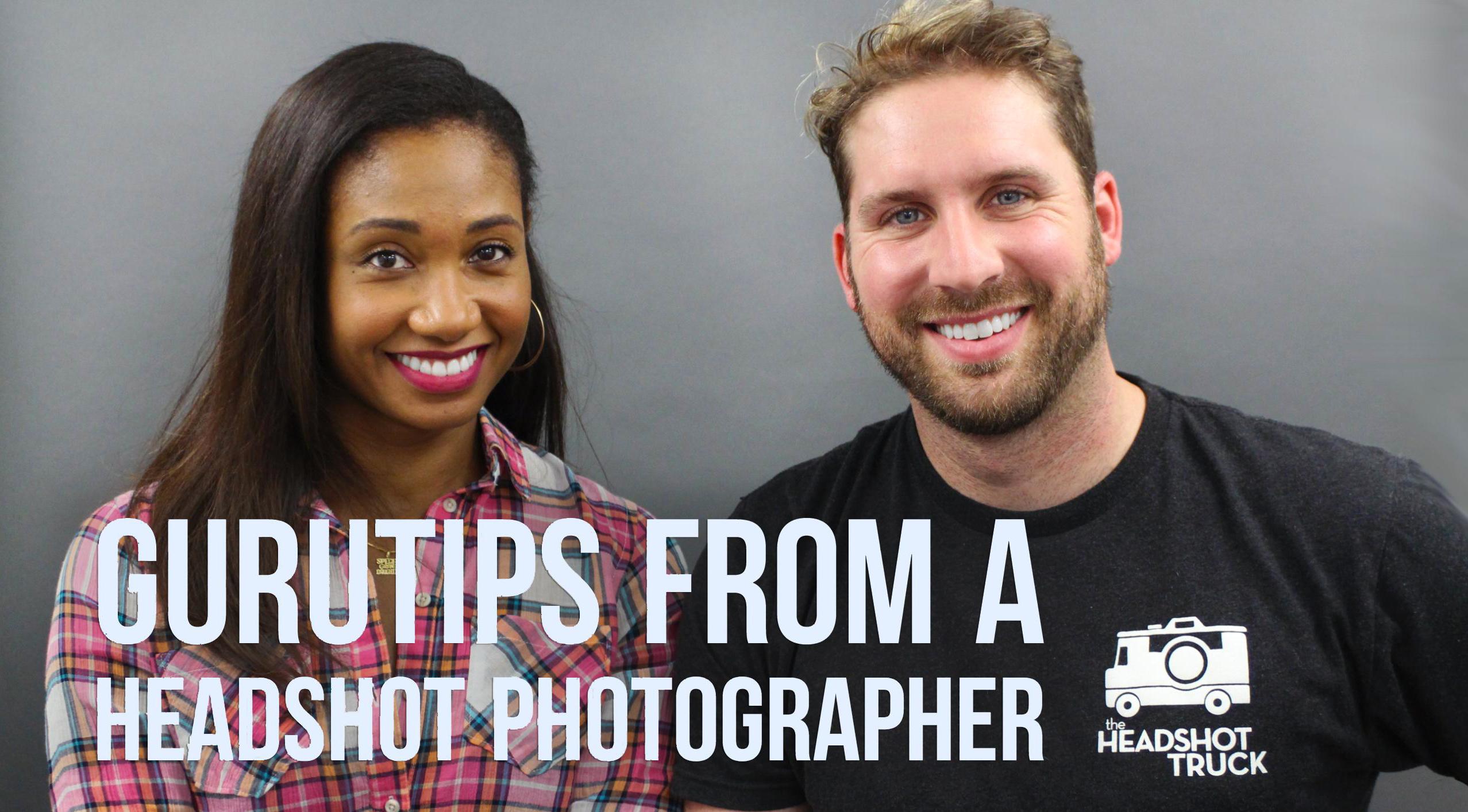 GuruTips From A Headshot Photographer (with The Headshot Truck!) | Workshop Guru