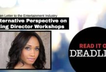 My Open Letter To The Entertainment Industry (on Deadline Hollywood) | Workshop Guru