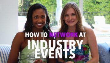 How To Network Effectively At Hollywood Industry Events (with guest Kym Jackson!)   Workshop Guru