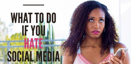 What To Do When You HATE Social Media | Workshop Guru