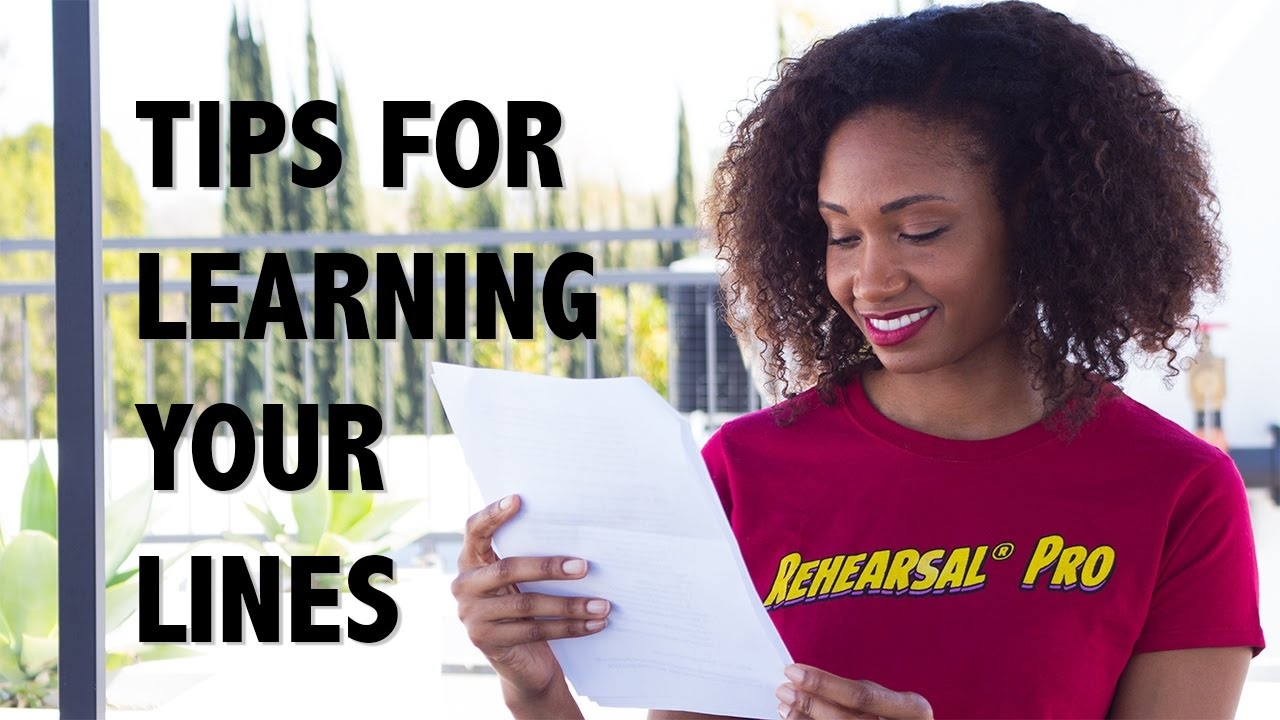 The Easy Way To Learn Your Lines! | Acting Resource Guru