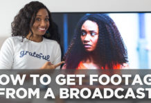 How To Get Your Footage From A Broadcast   Acting Resource Guru