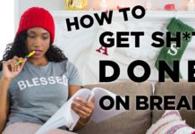 How To Get Stuff DONE Over The Holiday Break! | Acting Resource Guru