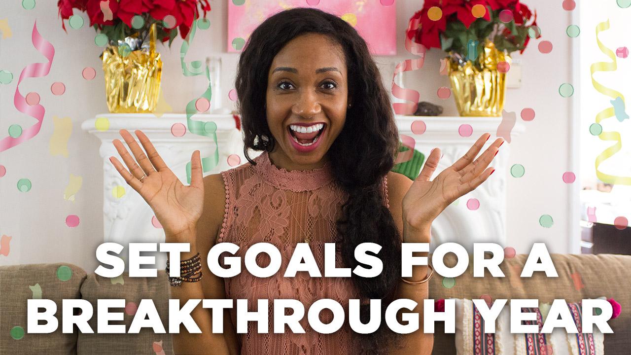 Set Goals For A Breakthrough Year! | Acting Resource Guru