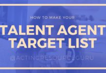 How To Make Your Talent Agent Target List | Acting Resource Guru