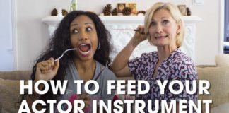 How To Nourish Your Actor Instrument | #HealthyActorSeries | Acting Resource Guru