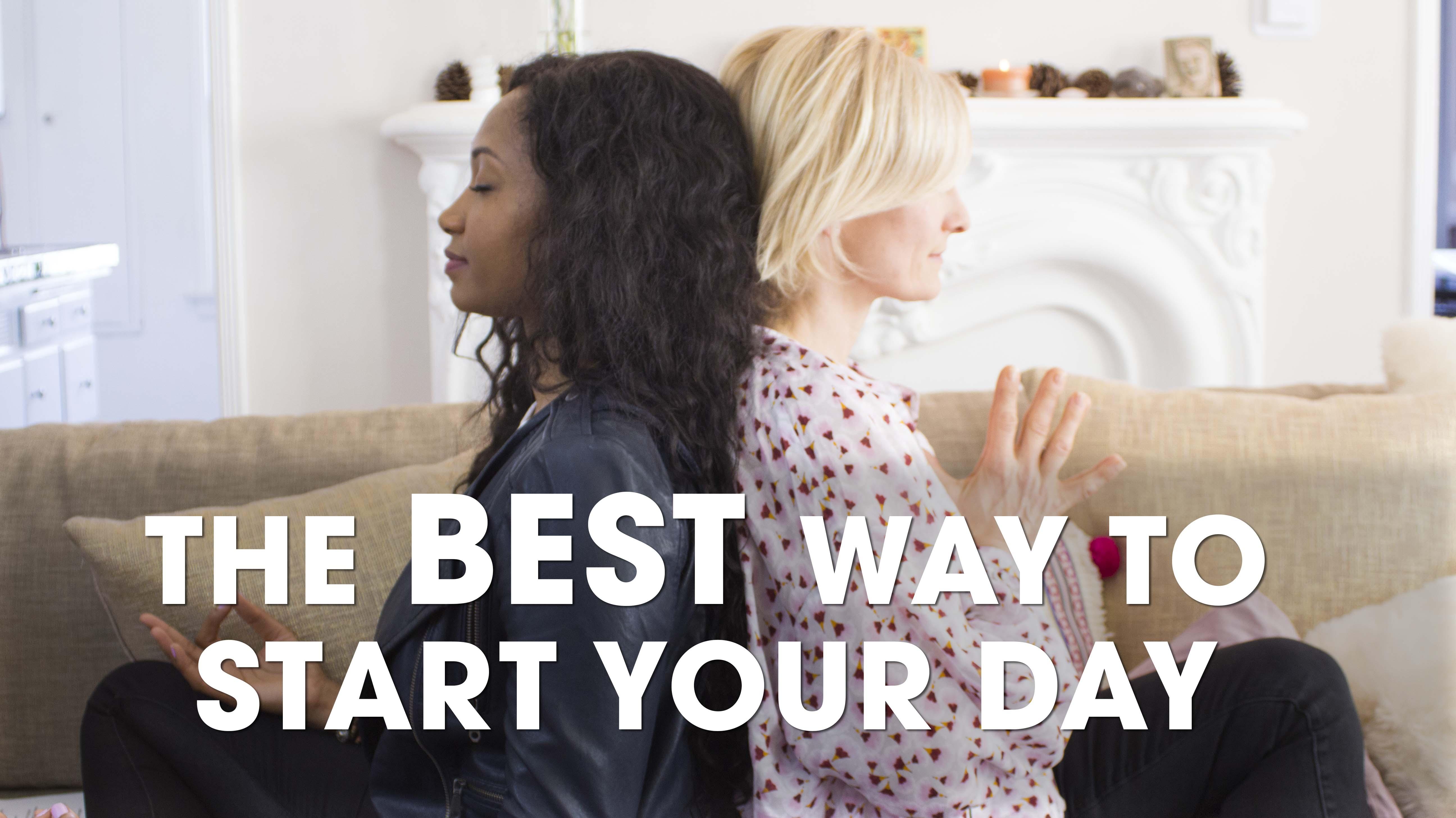 The Best Way To Start Your Day | #HealthyActorSeries | Acting Resource Guru