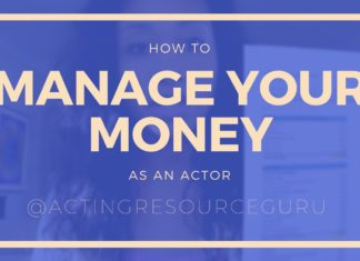 How To Manage Your Money As An Actor | Acting Resource Guru