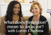 "What ""Intention"" Means To An Actor 