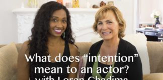 """What """"Intention"""" Means To An Actor 