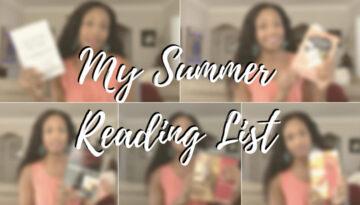 Ajarae's Summer Reading List   Acting Resource Guru