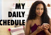 Ajarae Coleman's Daily Schedule | Acting Resource Guru #GetStuffDone