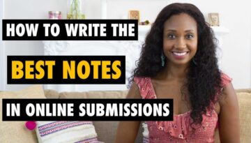 How To Write The Best Notes For Online Casting Submissions | Acting Resource Guru