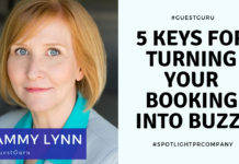 5 Keys for Turning Your Booking into Buzz