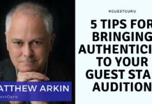 Matthew Arkin | Acting Resource Guru