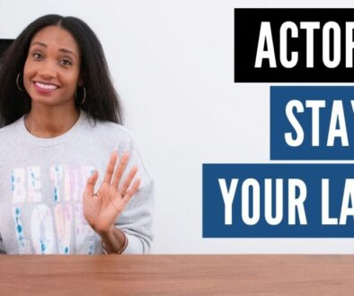 Actors... Stay In Your Lane!