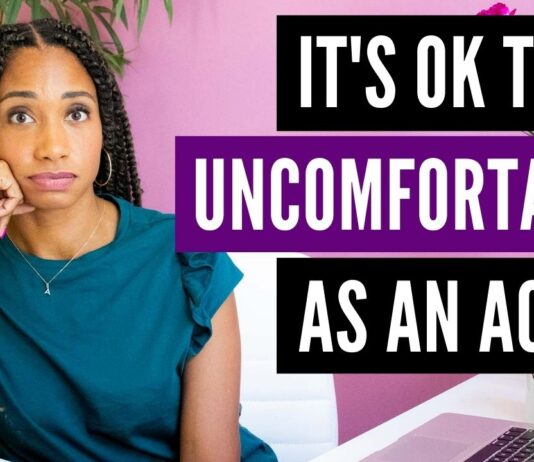 Why It's Okay To Be Uncomfortable As An Actor | Acting Resource Guru