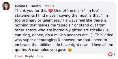 Celina C. Goetti Testimonial